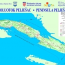 NEW -Walking,trekking and cycling trails of Pelješac